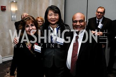 Manijeh Goldberg Sujuan Ba Raju Kucherlapati Photo by Naku Mayo. National Cancer Research Center Salisbury Awards 2019 November 14