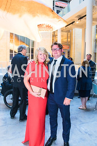 Paige Nicholson, Jake Nicholson . Photo by Alfredo Flores. National Museum of Natural History Leadership Circle Member Gala. Smithsonian National Museum of Natural History. June 6, 2019