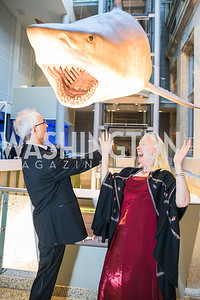 Brett Werb, Barbara Stauffer. Photo by Alfredo Flores. National Museum of Natural History Leadership Circle Member Gala. Smithsonian National Museum of Natural History. June 6, 2019