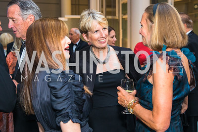 Heather Haaga, Susan Moeller, Maria Wilhelm. Photo by Alfredo Flores. National Museum of Natural History Leadership Circle Member Gala. Smithsonian National Museum of Natural History. June 6, 2019