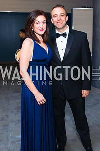Nicole Sofarelli, David Dziok . Photo by Alfredo Flores. National Museum of Natural History Leadership Circle Member Gala. Smithsonian National Museum of Natural History. June 6, 2019