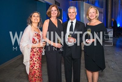 Shari Werb, Zully Dorr, Brian Reddington , Paula Kerger . Photo by Alfredo Flores. National Museum of Natural History Leadership Circle Member Gala. Smithsonian National Museum of Natural History. June 6, 2019