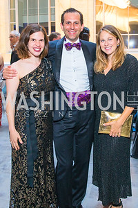 Meredith Katz , Dave Koian , Sam Smith. Photo by Alfredo Flores. National Museum of Natural History Leadership Circle Member Gala. Smithsonian National Museum of Natural History. June 6, 2019