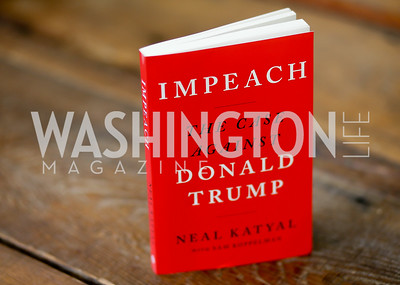 "Photo by Tony Powell. Neal Katyal ""Impeach"" Book Party. Glover Reiter Residence. November 23, 2019"