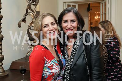 "Rachel Goslins, Mandy Grunwald. Photo by Tony Powell. Neal Katyal ""Impeach"" Book Party. Glover Reiter Residence. November 23, 2019"
