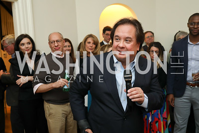 "George Conway. Photo by Tony Powell. Neal Katyal ""Impeach"" Book Party. Glover Reiter Residence. November 23, 2019"