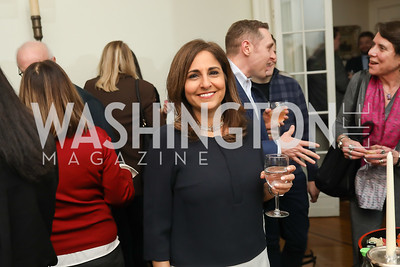 "Neera Tanden. Photo by Tony Powell. Neal Katyal ""Impeach"" Book Party. Glover Reiter Residence. November 23, 2019"