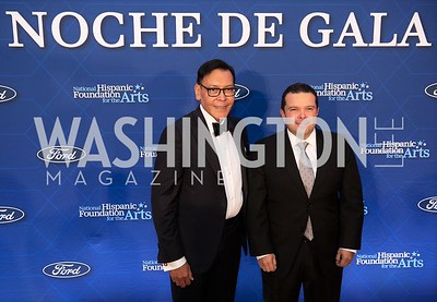 Felix Sanchez, Joe Avila. Photo by Yasmin Holman. Noche de Gala. Mayflower Hotel. 09.18.19