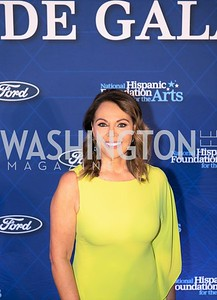 Maria Elena Salinas. Photo by Yasmin Holman. Noche de Gala. Mayflower Hotel. 09.18.19