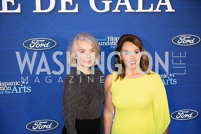 Merel Julia, Maria Elena Salinas. Photo by Yasmin Holman. Noche de Gala. Mayflower Hotel. 09.18.19