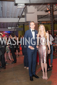 Ryan Codi, Breann Sitton, The Phillips Collection, Annual Gala Afterparty, Contemporaries Bash, Union Market Dock 5. May 10, 2019, Photo by Ben Droz.