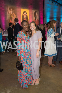Gabby Awuma,, Hayley Barton,  The Phillips Collection, Annual Gala Afterparty, Contemporaries Bash, Union Market Dock 5. May 10, 2019, Photo by Ben Droz.