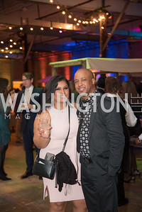 Juliana Berde, Kendrick Dandridge, The Phillips Collection, Annual Gala Afterparty, Contemporaries Bash, Union Market Dock 5. May 10, 2019, Photo by Ben Droz.