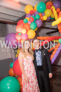 Ashley Zimmermann, Christopher Lydon, The Phillips Collection, Annual Gala Afterparty, Contemporaries Bash, Union Market Dock 5. May 10, 2019, Photo by Ben Droz.