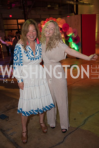Philippa Hughes, Lia Seremetis, The Phillips Collection, Annual Gala Afterparty, Contemporaries Bash, Union Market Dock 5. May 10, 2019, Photo by Ben Droz.