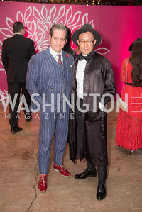 Donald Syriani, Victor Nguyen-Long, The Phillips Collection, Annual Gala Afterparty, Contemporaries Bash, Union Market Dock 5. May 10, 2019, Photo by Ben Droz.
