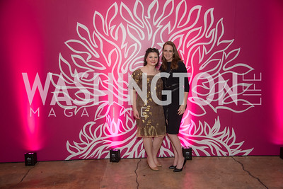 Emma Adelman, Kate Goodall, The Phillips Collection, Annual Gala Afterparty, Contemporaries Bash, Union Market Dock 5. May 10, 2019, Photo by Ben Droz.