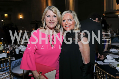 Kathleen Matthews, Deborah Sigmund. Photo by Tony Powell. RI 40th Anniversary Dinner. Mellon Auditorium. April 30, 2019