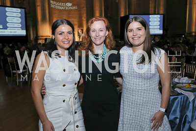 Diana Valentine, Allison Ford, Isabelle Trauger. Photo by Tony Powell. RI 40th Anniversary Dinner. Mellon Auditorium. April 30, 2019
