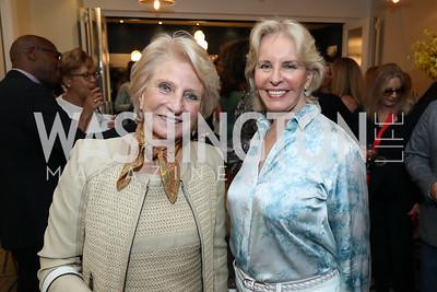 Jane Harman, Sally Quinn. Photo by Tony Powell. Viacom Rocketman Screening VIP Reception. Fiola Mare & AMC Georgetown. May 30, 2019