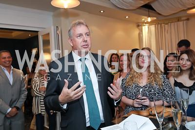 Britain Amb. Sir Kim Darroch. Photo by Tony Powell. Viacom Rocketman Screening VIP Reception. Fiola Mare & AMC Georgetown. May 30, 2019