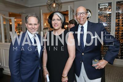 Jeremy Bash, Tammy Haddad. Photo by Tony Powell. Viacom Rocketman Screening VIP Reception. Fiola Mare & AMC Georgetown. May 30, 2019