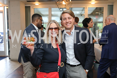 Janet Donovan, Josh Randle. Photo by Tony Powell. Viacom Rocketman Screening VIP Reception. Fiola Mare & AMC Georgetown. May 30, 2019