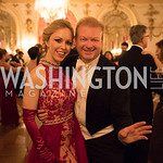 2018 Debutante Alexandra Fuiks and Ball Chairman Paul du Quenoy. Russian Ball. Photo by Bruce Allen