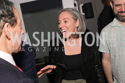 """Laura Kelly. Photo by Tony Powell. Ryan Grim """"We've Got People"""" Book Party. September 19, 2019"""