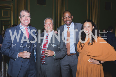 Scott Stewart | Robert Wolf | Congressman Antonio Delgado | Lacey Swartz-Delgado Photo by Naku Mayo Sandy Hook Gala June 19, 2019