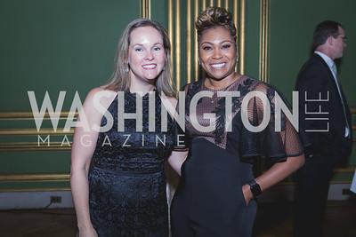 Dawn Lyons, Dr. Roberta Scott Photo by Naku Mayo Sandy Hook Gala June 19, 2019