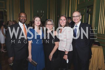 Virgil Griffin Leigh Walton Liz Puglisi Kate Renz Bruce Heiman Photo by Naku Mayo Sandy Hook Gala June 19, 2019