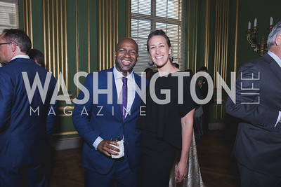 Kenny Thompson Sara Sykes Photo by Naku Mayo Sandy Hook Gala June 19, 2019