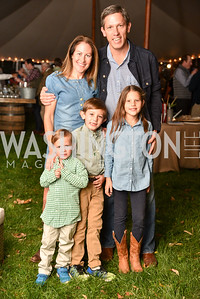 Lindsay Stroud, Shannon Stroud, and family,  The Stroud Foundation, 7th Annual Hoedown, October 19, 2019, Photo by Ben Droz.