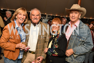 Wendy Benchley, Richard Rymland, Catherine Wyler, John Jepson, The Stroud Foundation, 7th Annual Hoedown, October 19, 2019, Photo by Ben Droz.