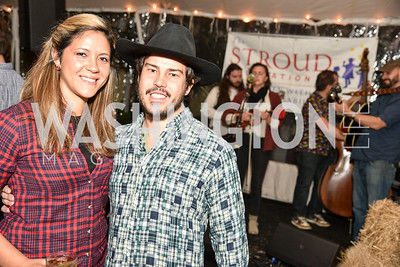 Fabiola Bradlee, Quinn Bradlee, The Stroud Foundation, 7th Annual Hoedown, October 19, 2019, Photo by Ben Droz.