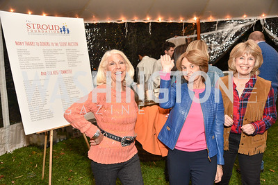 Kandy Stroud, Kathleen Kennedy,  The Stroud Foundation, 7th Annual Hoedown, October 19, 2019, Photo by Ben Droz.