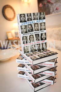 """Photo by Tony Powell. """"Survival Math"""" Book Party. Haft Residence. May 28, 2019"""