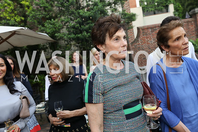 """Maureen Orth. Photo by Tony Powell. """"Survival Math"""" Book Party. Haft Residence. May 28, 2019"""