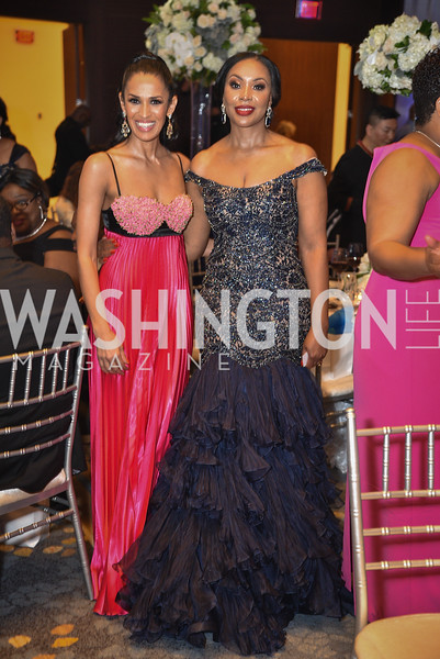 Kenya Pierce and Ogay Irono, TIS Foundation, 25th Anniversary Gala, Marriott Marquis, June 6, 2019, photo by Ben Droz.