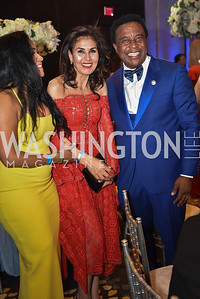 Jessica Herrera Brown and Emmanuel Irono, TIS Foundation, 25th Anniversary Gala, Marriott Marquis, June 6, 2019, photo by Ben Droz.