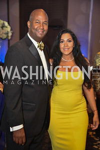 Michael Brown and Jessica Herrera Brown, TIS Foundation, 25th Anniversary Gala, Marriott Marquis, June 6, 2019, photo by Ben Droz.
