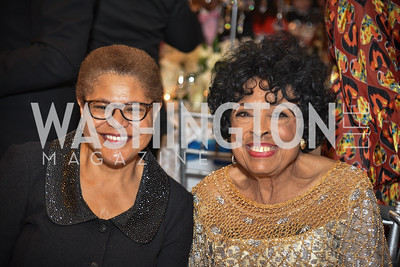 Congresswoman Karen Bass and The Honorable Diane Watson, TIS Foundation, 25th Anniversary Gala, Marriott Marquis, June 6, 2019, photo by Ben Droz.
