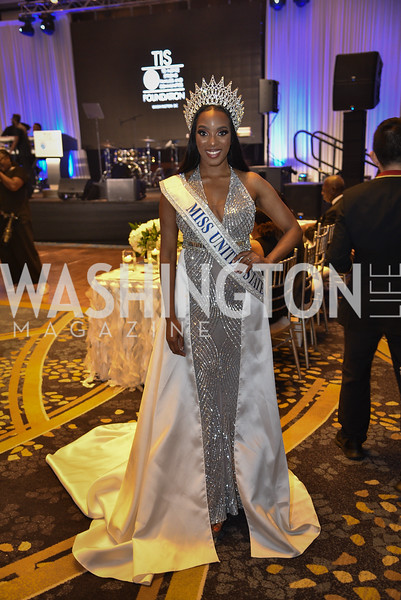 Andromeda Peters, TIS Foundation, 25th Anniversary Gala, Marriott Marquis, June 6, 2019, photo by Ben Droz.