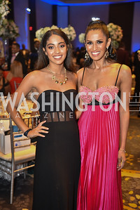 Sophia Pierce and Kenya Pierce, TIS Foundation, 25th Anniversary Gala, Marriott Marquis, June 6, 2019, photo by Ben Droz.