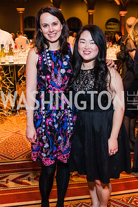 Ginny Okon, Mandy Chmieleski. Photo by Alfredo Flores. The Lab School of Washington's 35th Awards Gala.
