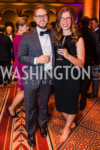 Will Warren, Nell Warren, . Photo by Alfredo Flores. The Lab School of Washington's 35th Awards Gala. National Building Museum. November 14, 2019