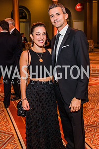 Anastasia Dellaccio, Gianluigi Dellaccio, Photo by Alfredo Flores. The Lab School of Washington's 35th Awards Gala. National Building Museum. November 14, 2019