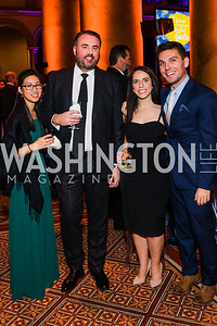 Cristina Chow, Shawn Smith, Jill Aplan, Evan Hurley,  The Lab School of Washington's 35th Awards Gala. National Building Museum. November 14, 2019