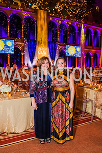 April Roscoe, Jayna Roscoe, Photo by Alfredo Flores. The Lab School of Washington's 35th Awards Gala. National Building Museum. November 14, 2019
